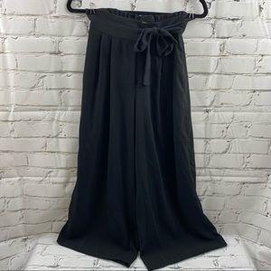 Zara trafaluc collection wide leg high waist pants